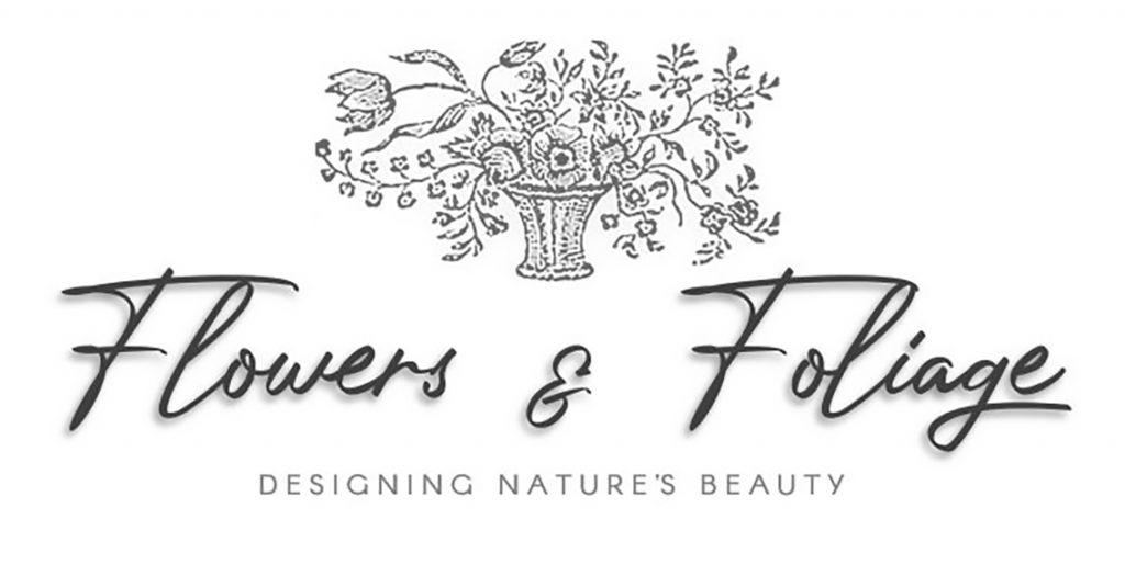 Flowers and Foliage Design logo